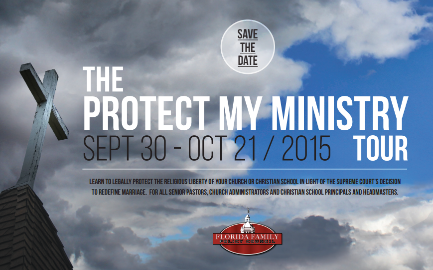 Pastors: Time is Running Out to Register For Protect My Ministry Tour
