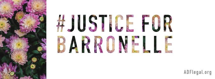 Would you join us in standing with and supporting Barronelle?