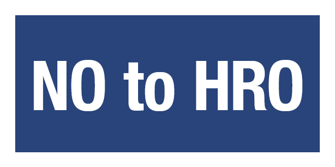"Tell the Jacksonville City Council to Say ""NO"" to the HRO!"