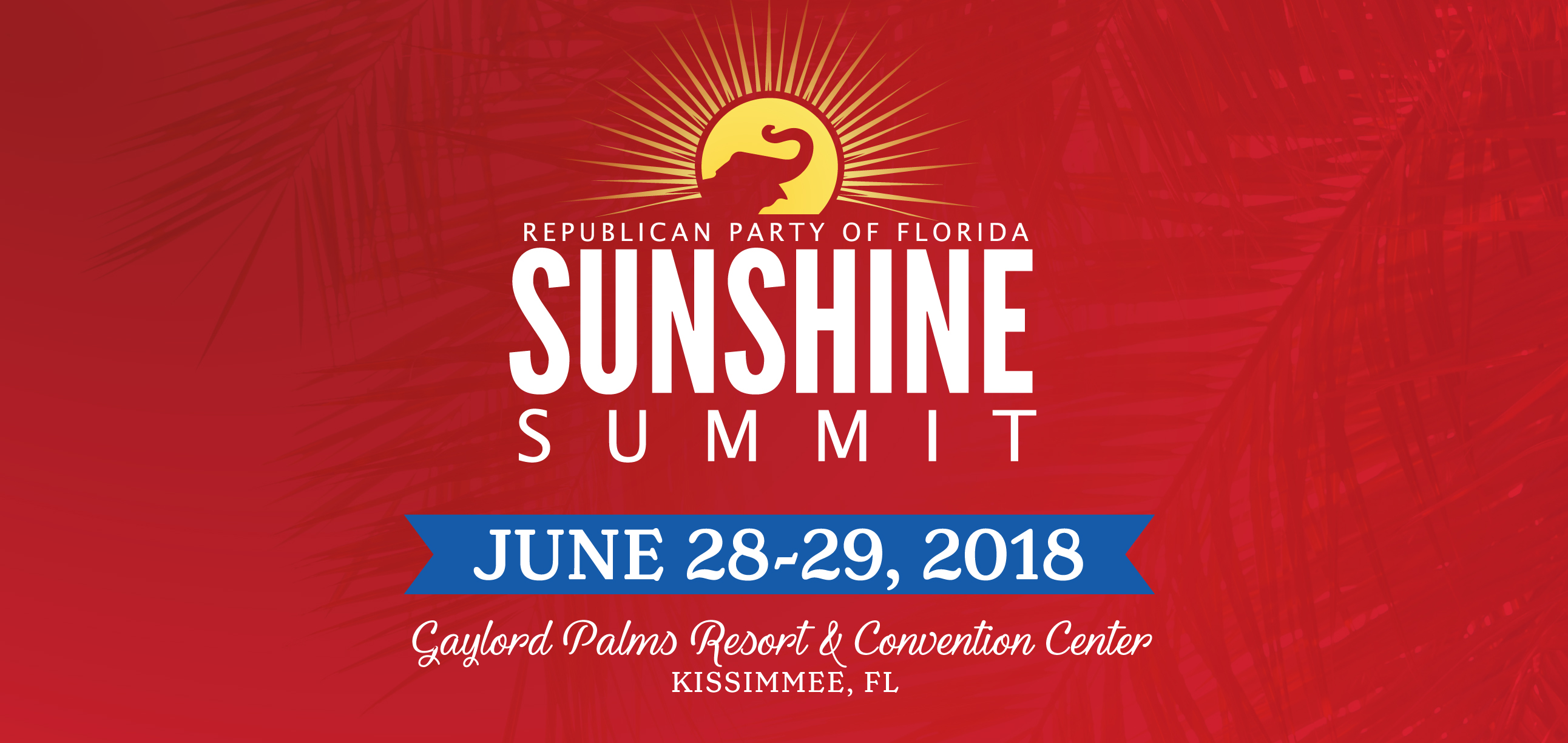 Available Now: Tickets for RPOF 2-Day Sunshine Summit Gubernatorial Debate & Special Guest Talks in Kissimmee