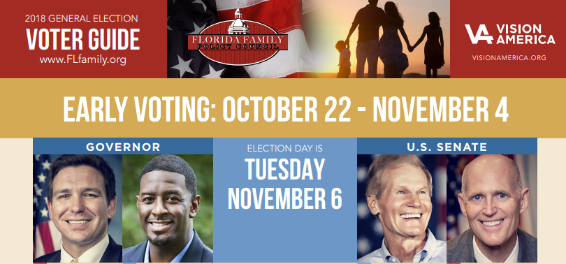 We need your help NOW to deliver 1 MILLION church-friendly voter guides to Florida churches