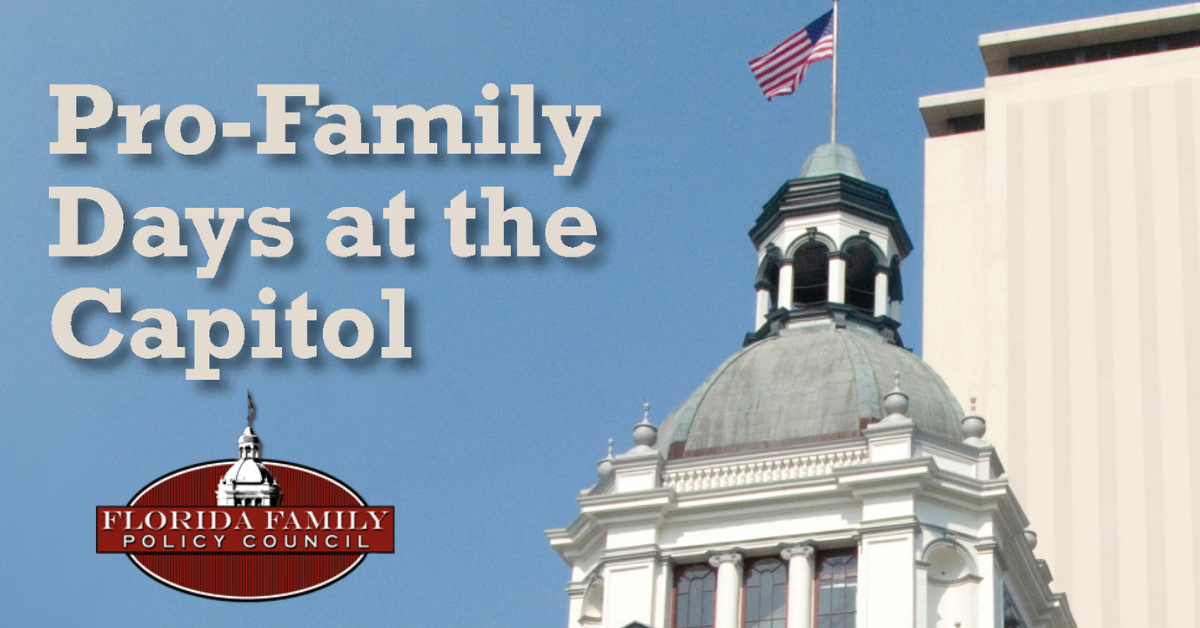 Only one month away from Pro-Life, Pro-Family Days at the Capitol! Register now to watch history being made
