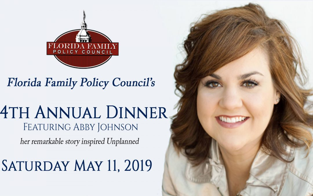 LAST CHANCE: TONIGHT before midnight is the DEADLINE to buy tickets to hear Abby Johnson in Orlando this Saturday