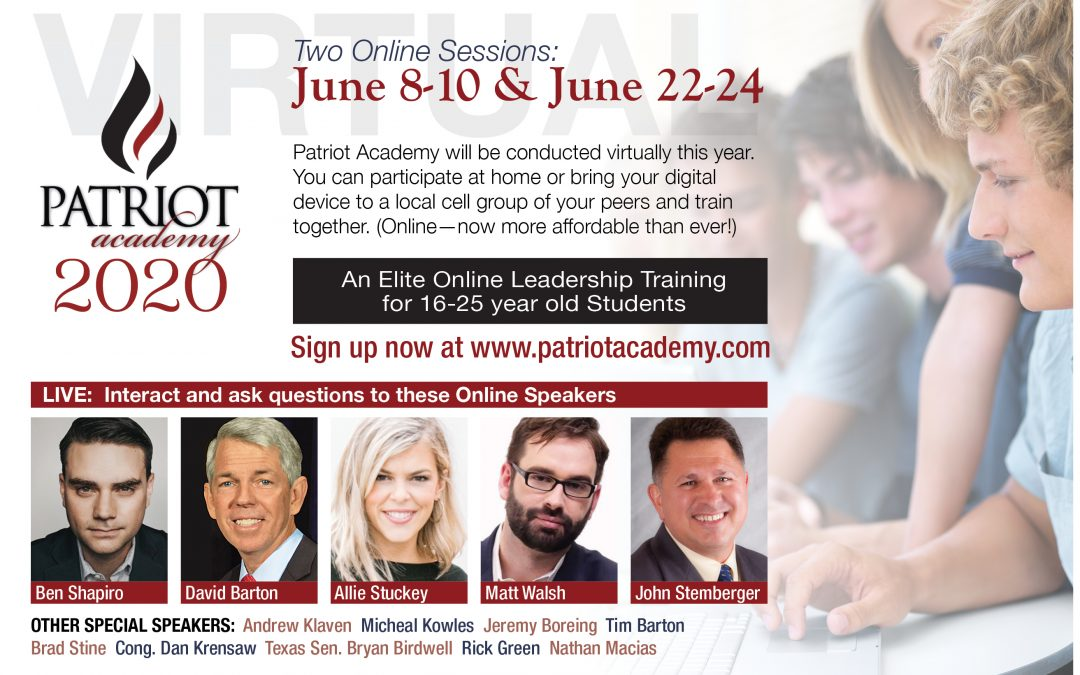 Patriot Academy Virtual Bootcamps June 2020 (Scholarships Available!)