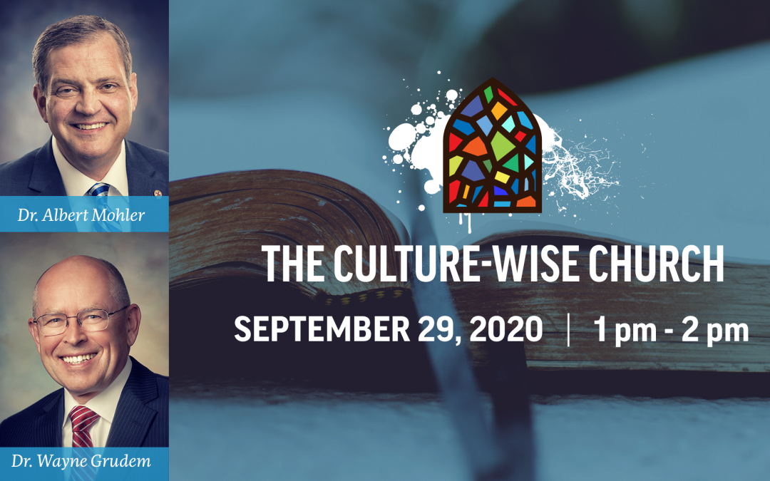 WATCH: Culture-Wise Church Webinar Available Now on YouTube