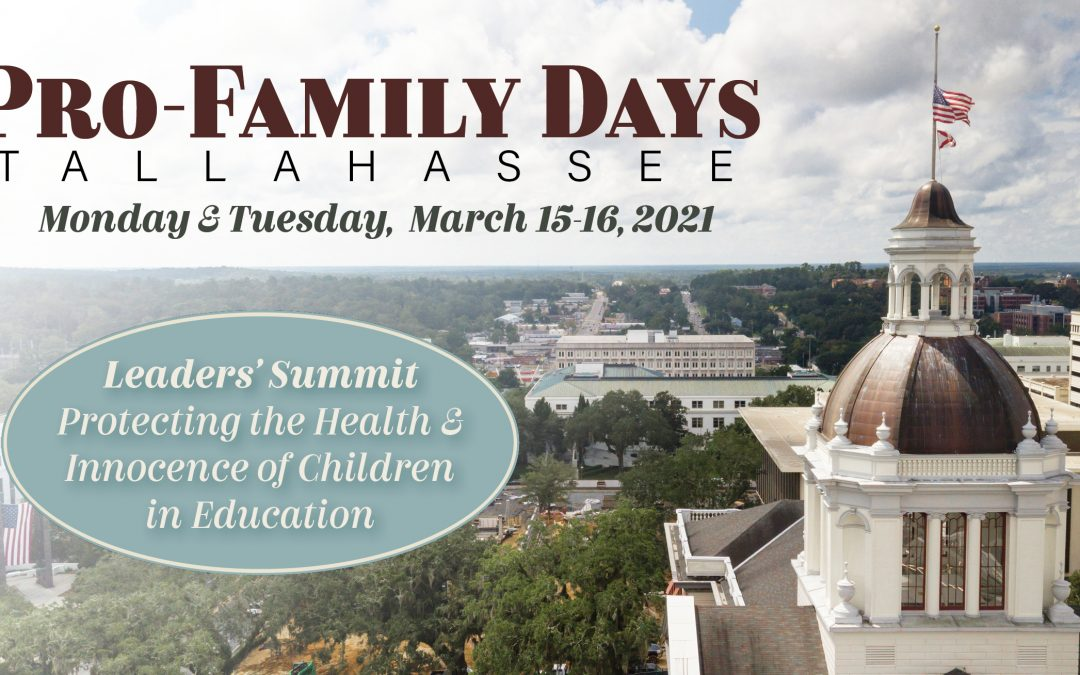 BREAKING NEWS: Gov. DeSantis to address Pro-Family Days event