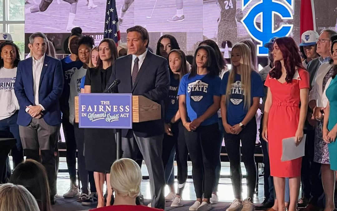 FFPC Praises Governor Ron DeSantis for Signing Bill into Law Prohibiting Males from Competing in Female Sports