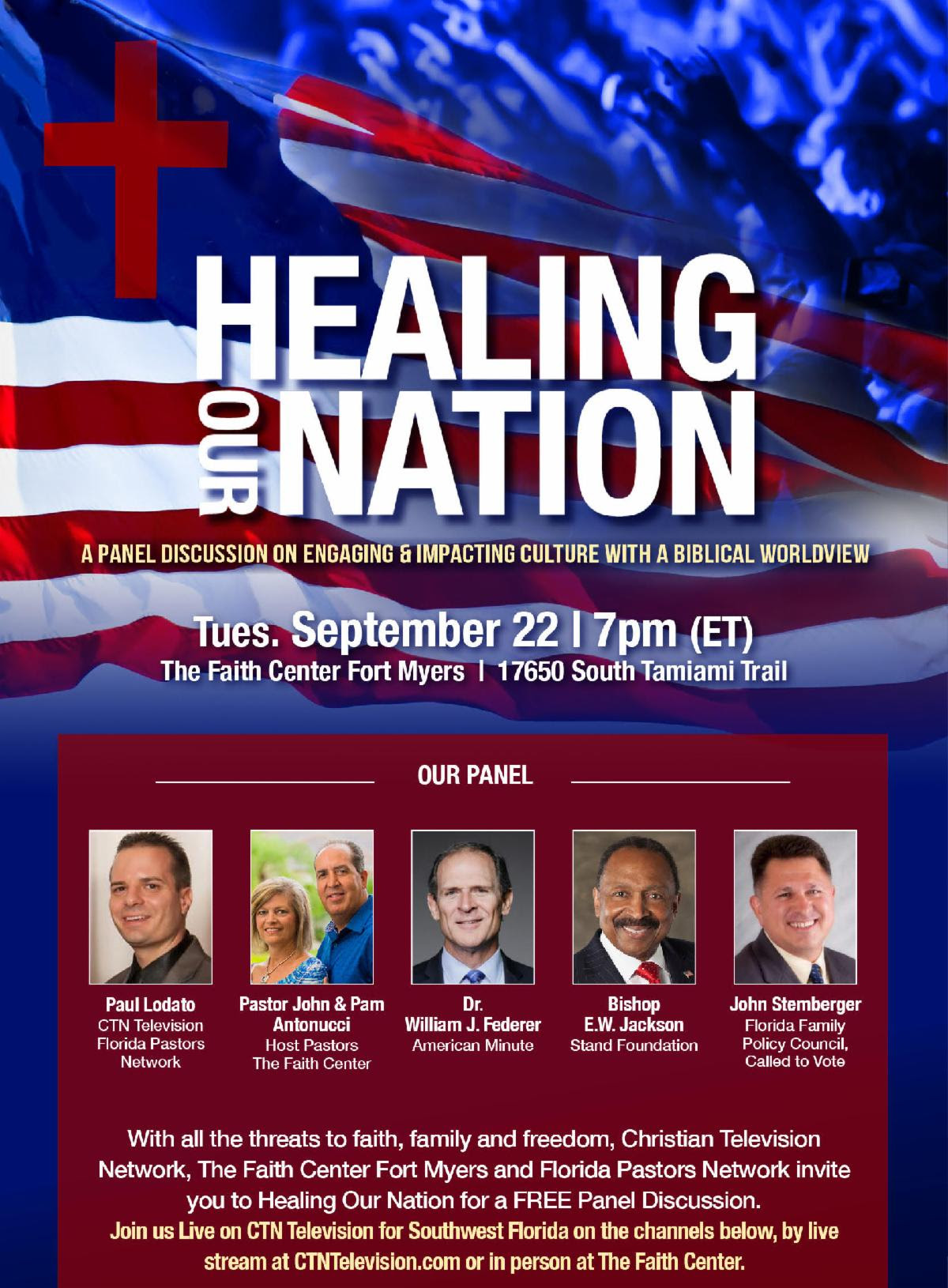 healing our nation event