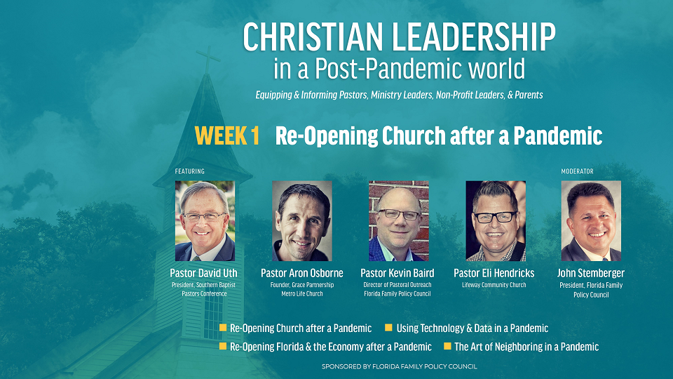 Strategies for Re-Opening Church Webinar Recording Available Now!