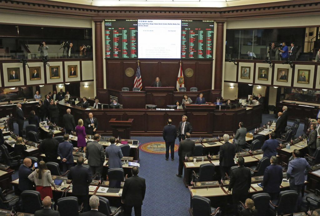 Florida House votes on parental consent before abortion bill